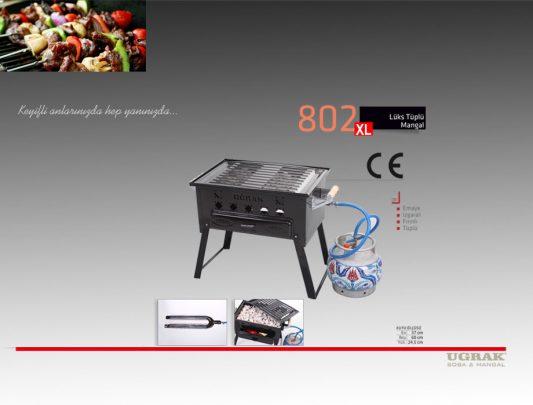 Lüks Tüplü Mangal -Fırınlı İzgara Emaye Ürün İçerik-802